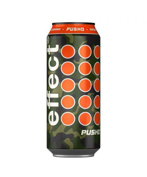 effect® PUSHD coole Camouflage 0,33l Dose +50% Inhalt und Geschmack der anzieht.