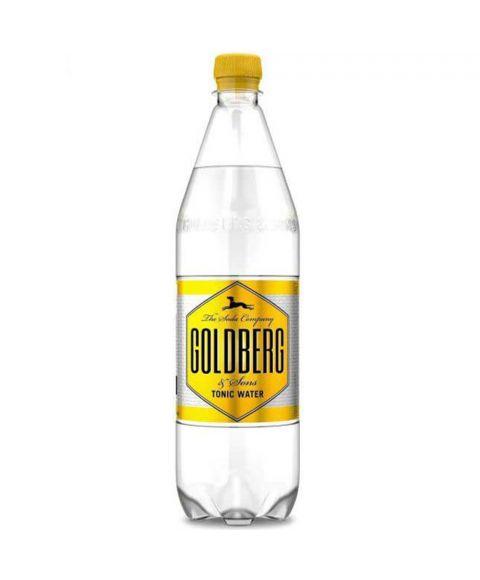 Goldberg Tonic Water in 1,0l PET Flasche.