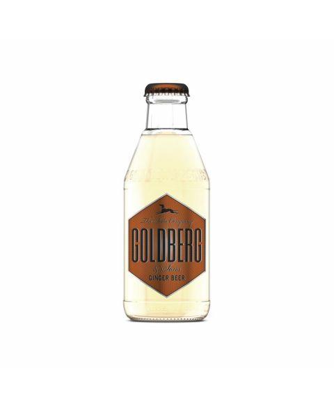 Goldberg Ginger Beer in 0,2l Glasflasche.