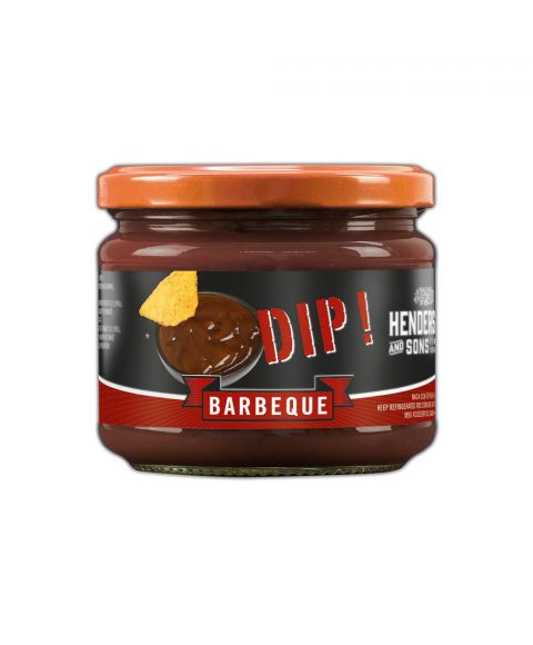 Henderson & Sons Barbeque Dip im 300g Glas.