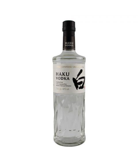 Suntory Haku Japanese Vodka Reis-Vodka 0,7L Frontansicht