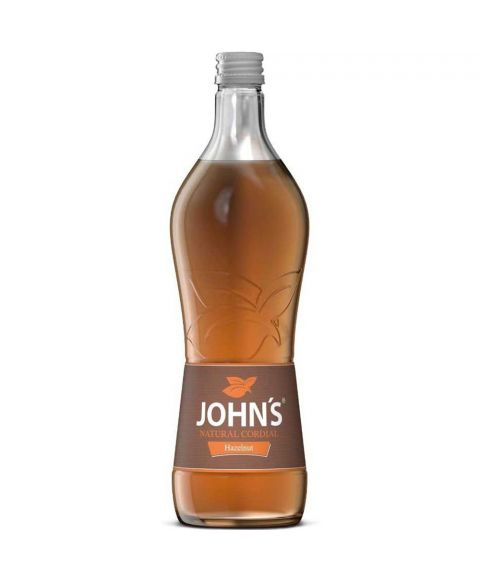 Johns Haselnuss Cocktailsirup in 0,7l Glasflasche