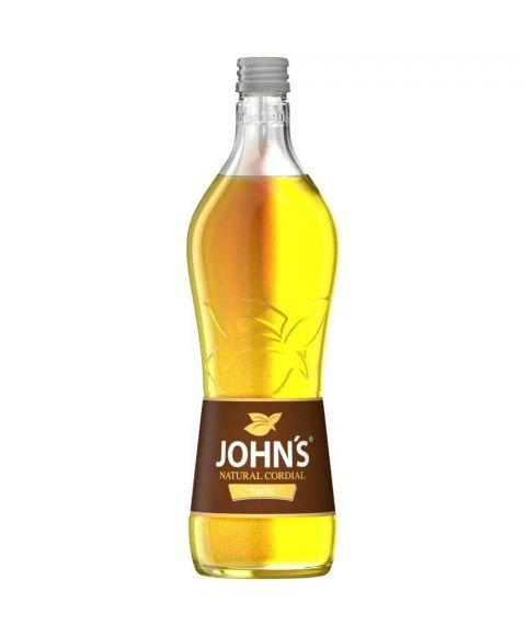 Johns Vanillesirup zur Cocktailzubereitung in 0,7l Glasflasche