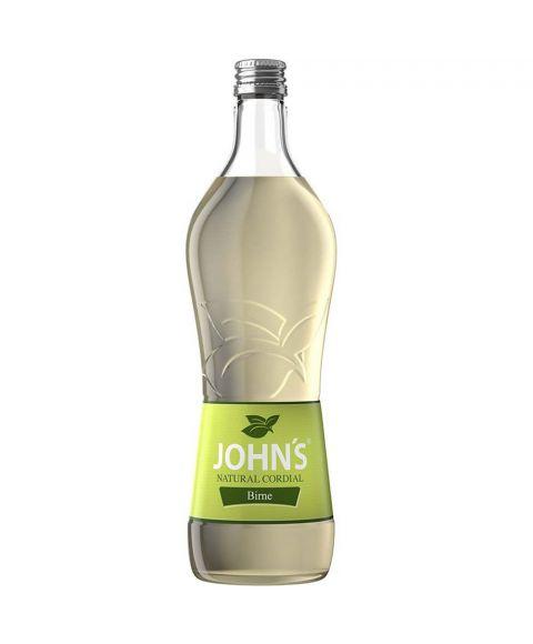 John´s Cocktail Mixer Sirup Birne in 0,7 Liter Flasche