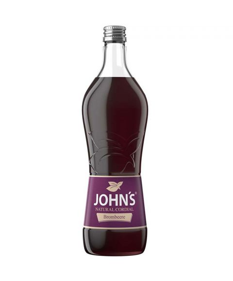 John´s Brombeere Sirup Cocktail Mixer in 0,7L Glasflasche