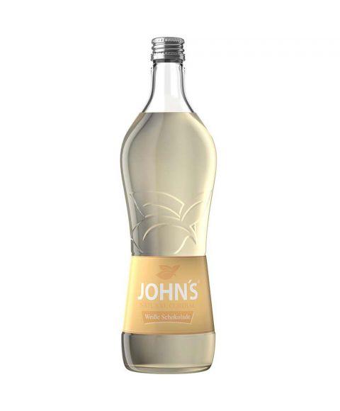 John´s Weiße Schokolade Cocktail Sirup in 0,7L Flasche