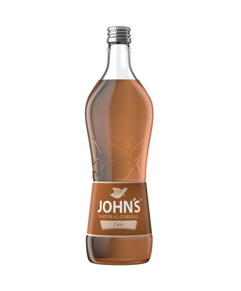 John´s Zimt Sirup Cocktail Mixer in 0,7L Flasche