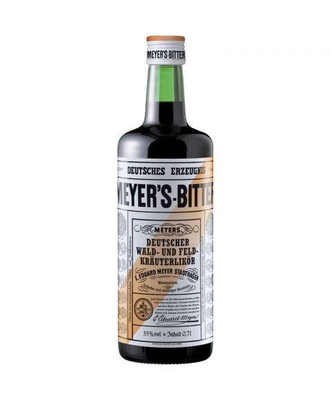 Meyers Bitter Kräuterlikör Wald und Feldkräuter in 0,7l Glasflasche