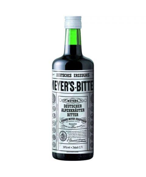 Meyers Bitter Deutsche Alpenkräuter Kräuterlikör in 0,7l Flasche