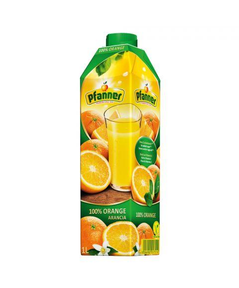 Orangensaft von Pfanner Fruchtsaefte in 1 Liter SIG Karton Packung