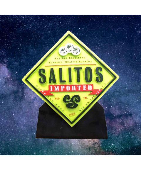 SALITOS Back Bar Light eingeschaltet.