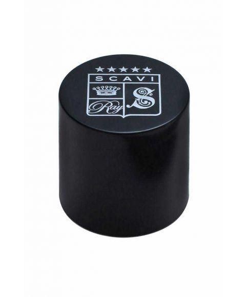 SCAVI&RAY Piccolo Öffner schwarz mit Logo Druck.