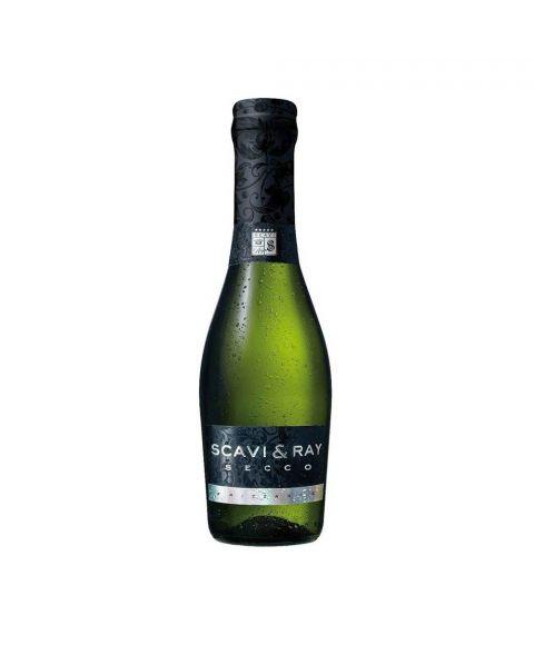 SCAVI & RAY Secco Piccolo Sekt frizzante in kleiner 0,2l Flasche
