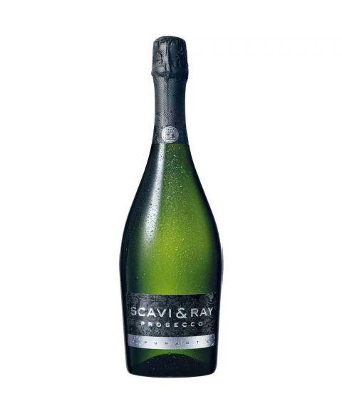 SCAVI & RAY Prosecco Spumante (Schaumwein) in 0,75l Glasflasche