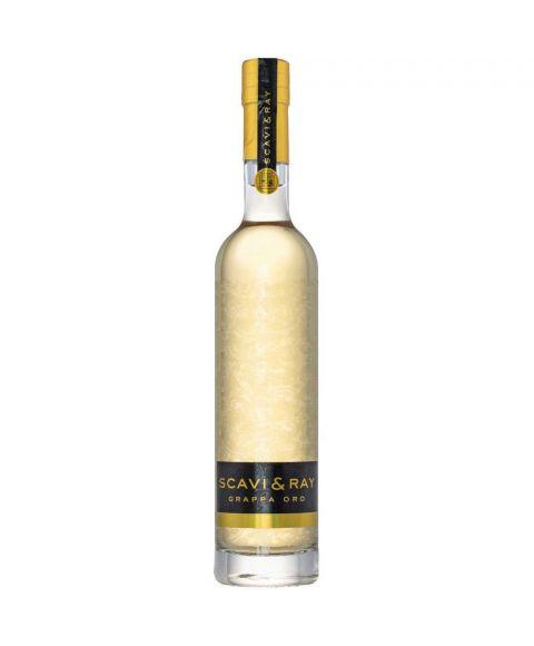 SCAVI & RAY Winery Grappa Oro in 0,5l Flasche