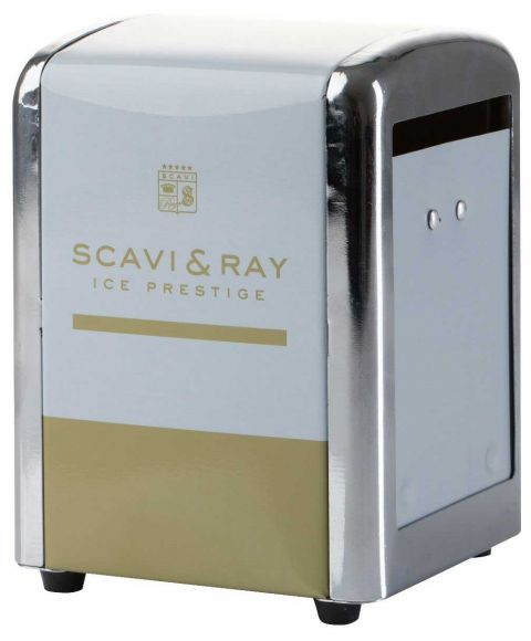 Serviettenhalter von SCAVI & RAY Ice P für die Gastronomie weiß