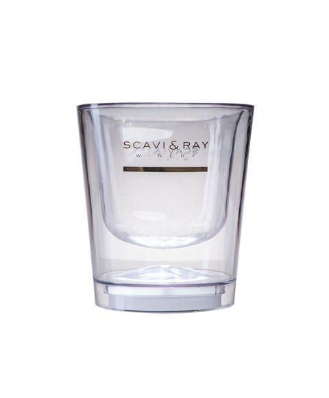 SCAVI & RAY Ice Prestige Flaschen Kühler mit LEd ohne Inhalt