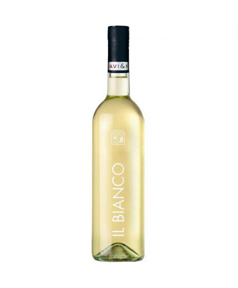 SCAVI & RAY Il Bianco Weißwein in neuer 0,75l Glasflasche mit silbernen Akzenten