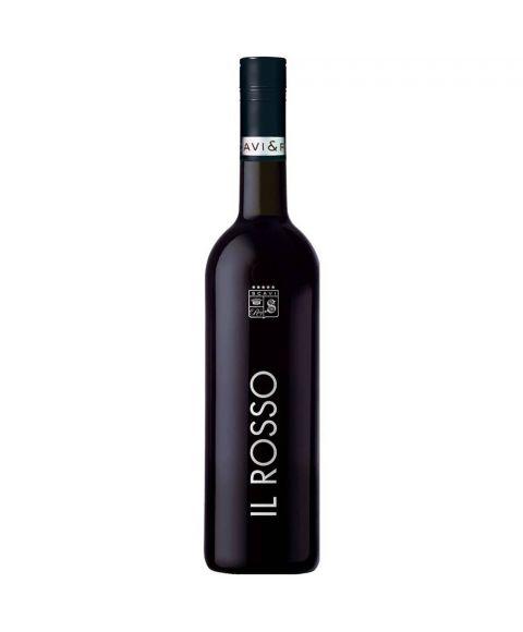 SCAVI & RAY Vino IL Rosso Rotwein 0,75L in neuer edler schwarzer Flasche mit silbernen Akzenten