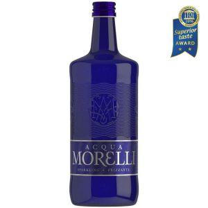 Acqua Morelli Sparkling, Mineralwasser mit Kohlensäure in der 0,75l Glasflasche.