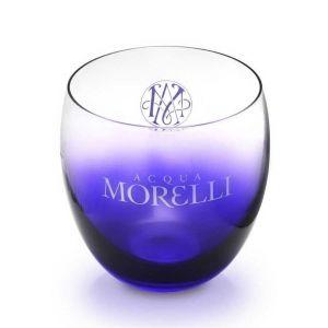 Acqua Morelli Leonardo Glas mit blauem Farbverlauf