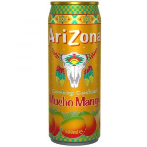 AriZona Cowboy Cocktail Mucho Mango Eistee in einer 0,5l Dose.