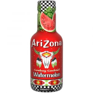 AriZona Cowboy Cocktail Watermelon Eistee in einer 0,5l PET Flasche.