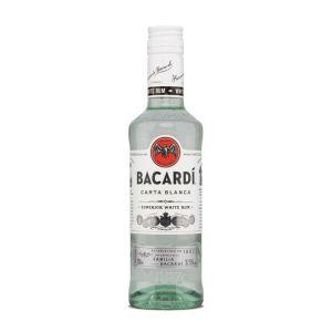 Bacardi Carta Blanca weißer Rum in 350ml Flasche
