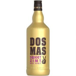 DOS MAS Mex Shot in einer goldenen 3l Flasche, der Hingucker auf jeder Party.