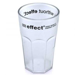 effect® Longdrinkbecher aus Acryl mit effect Logo