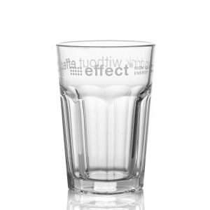effect® Longdrinkglas transparent mit effect Logo