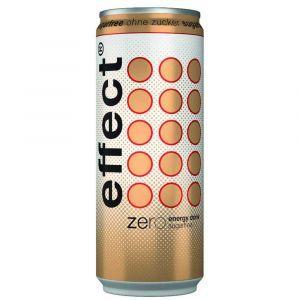 effect® energy zero voller geschmack ohne Zucker in der handlichen 0,33l Dose.
