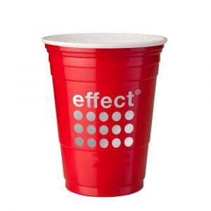 umweltschonende Red Cups von effect energy aus Hartplastik