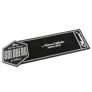 Goldberg Bar Matte in schwarz und weiß.