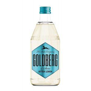 Goldberg Bitter Lemon in 0,5l Glasflasche.