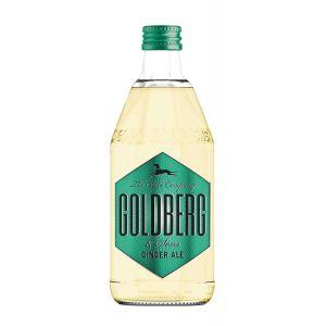 Goldberg Ginger Ale in 0,5l Glasflasche.