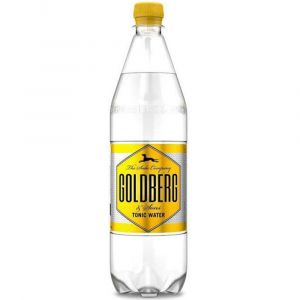 Goldberg Tonic Water in 1,0l PET Flasche.