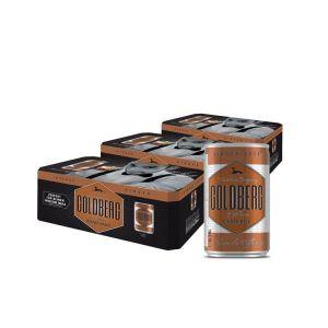 Goldberg Ginger Beer 3er Paket Fridgepack 8x0,15l Dose mit David Wiedemann.