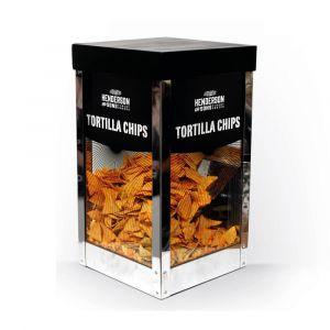 Henderson & Sons günstiger Tortilla Chips Wärmer mit Portionier Schaufel
