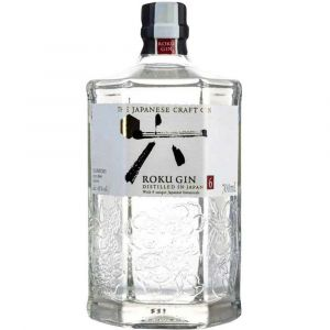 Roku Japanese Gin in floraler 0,7l Flasche