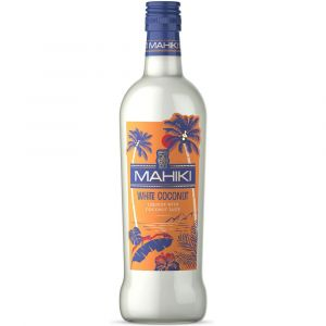 MAHIKI White Coconut Liqueur in 700ml Flasche. Weiße Flüssigkeit für verschiedenste Cocktail Kreationen.