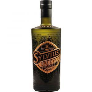 Sylvius hochwertiger Black Gin in auffälliger 0,7l Flasche