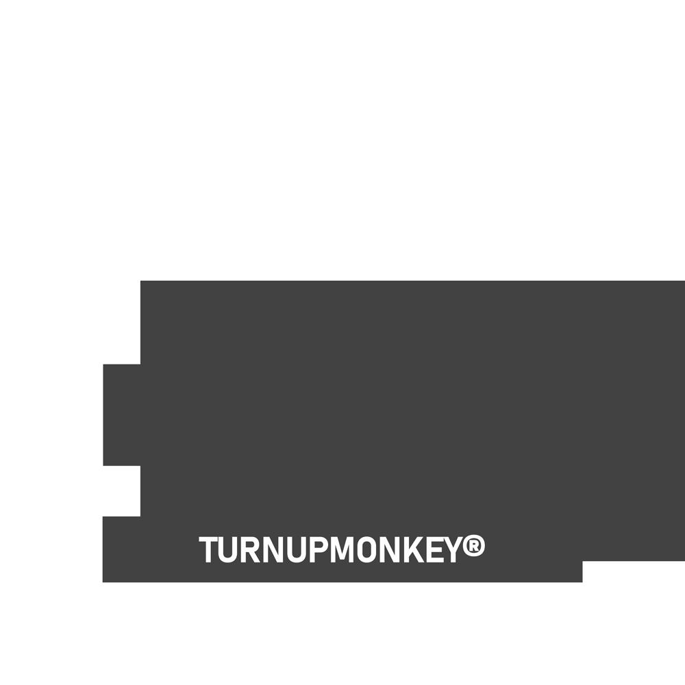 turn-up-monkey-logo