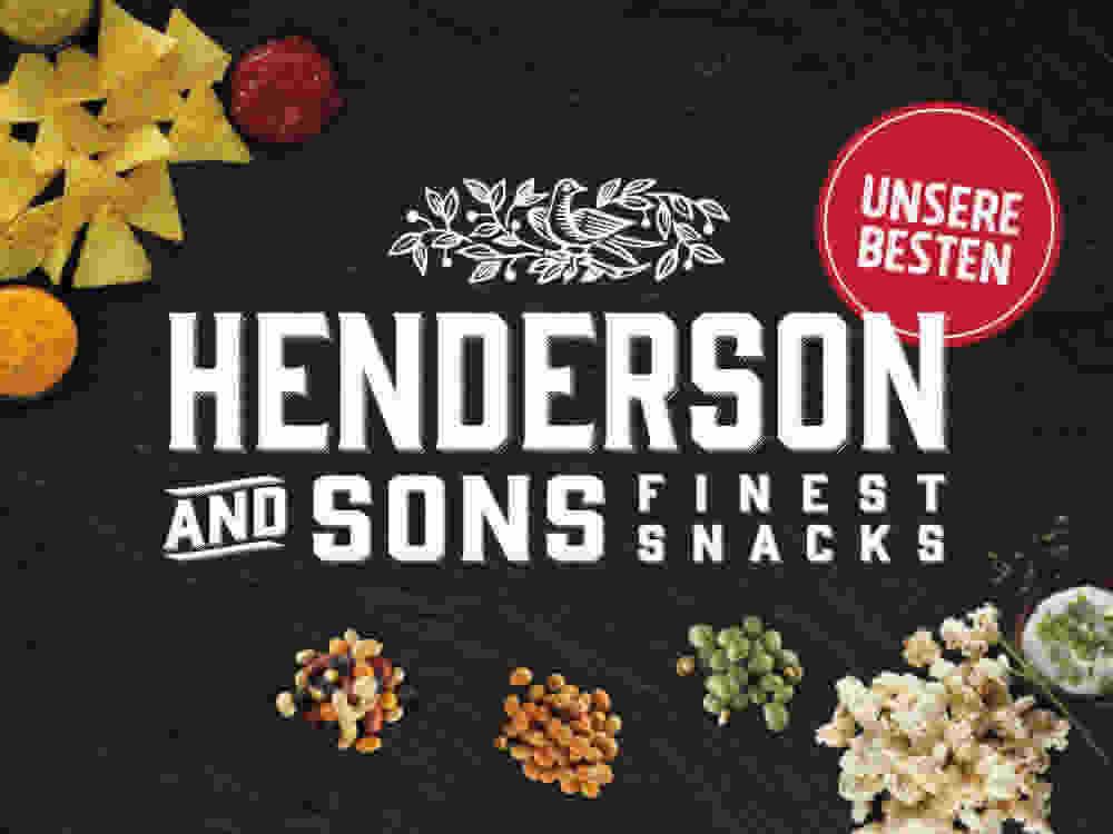Snack Marke Henderson & Sons Bild von Tortilla Chips