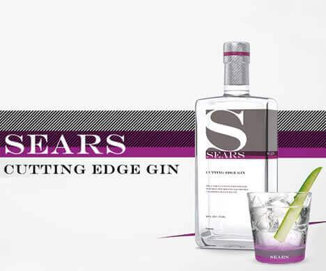 Kategoriebanner Sears Cutting Edge Gin im Glas