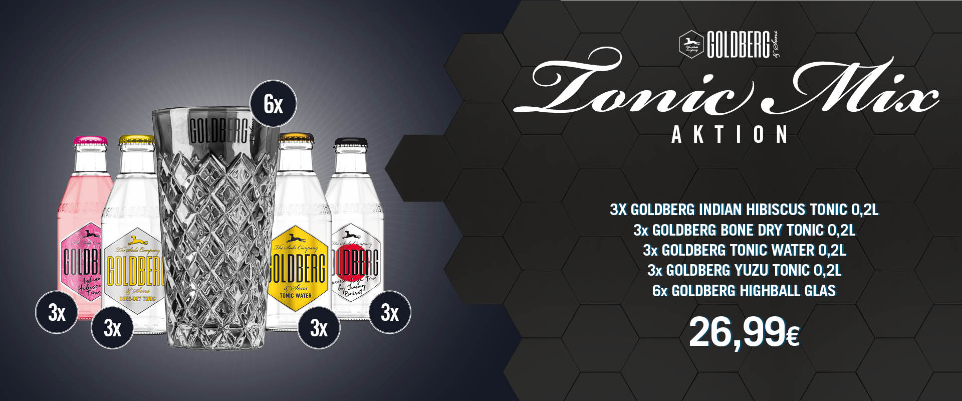 Goldberg Tonic Mix Aktion